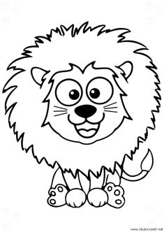 aslan-boyama-sayfasi-lion-coloring-page (72)