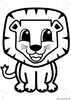 aslan-boyama-sayfasi-lion-coloring-page (73)