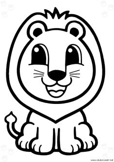 aslan-boyama-sayfasi-lion-coloring-page (78)
