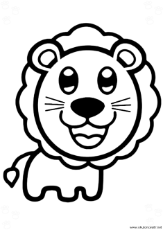 aslan-boyama-sayfasi-lion-coloring-page (80)