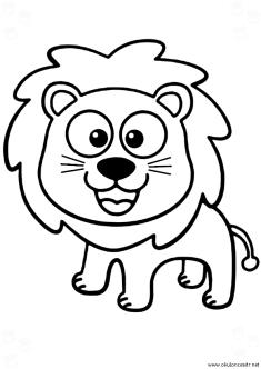 aslan-boyama-sayfasi-lion-coloring-page (81)
