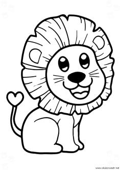 aslan-boyama-sayfasi-lion-coloring-page (83)