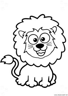 aslan-boyama-sayfasi-lion-coloring-page (84)