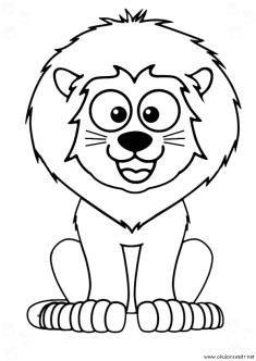 aslan-boyama-sayfasi-lion-coloring-page (86)