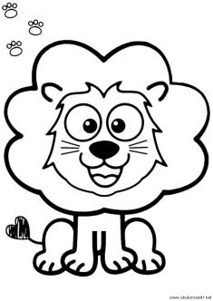aslan-boyama-sayfasi-lion-coloring-page (97)
