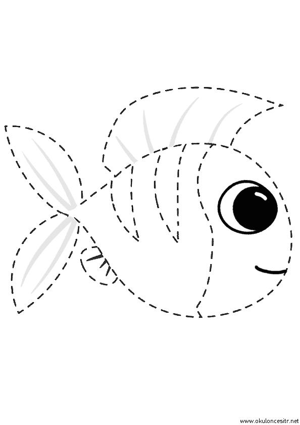 Balık Çizgi Çalışması