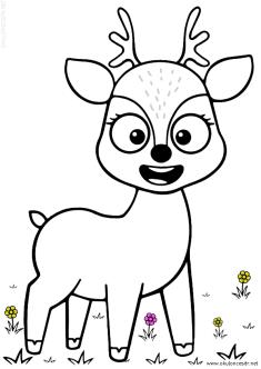 geyik-ceylan-boyama-deer-gazelle-coloring (53)