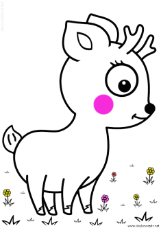 geyik-ceylan-boyama-deer-gazelle-coloring (54)