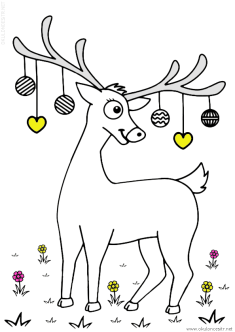 geyik-ceylan-boyama-deer-gazelle-coloring (55)