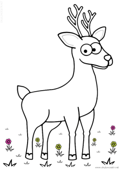 geyik-ceylan-boyama-deer-gazelle-coloring (57)