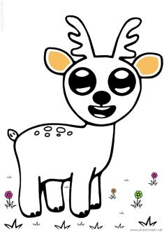 geyik-ceylan-boyama-deer-gazelle-coloring (58)