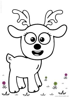 geyik-ceylan-boyama-deer-gazelle-coloring (62)