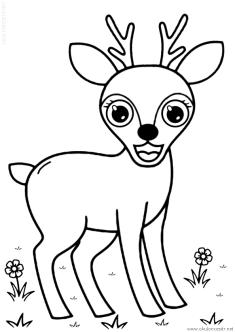 geyik-ceylan-boyama-deer-gazelle-coloring (66)