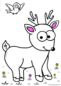geyik-ceylan-boyama-deer-gazelle-coloring (69)