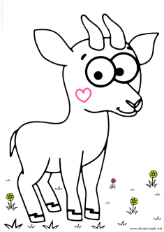 geyik-ceylan-boyama-deer-gazelle-coloring (70)