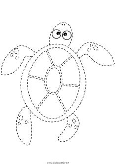 kaplumbaga-cizgi-calisma-sayfasi (2)