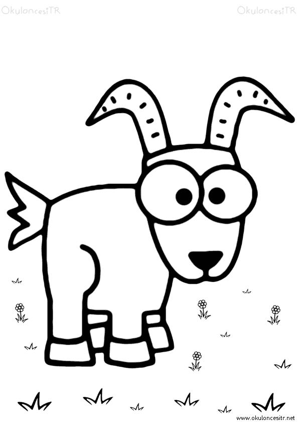 Koyun Keçi Boyama