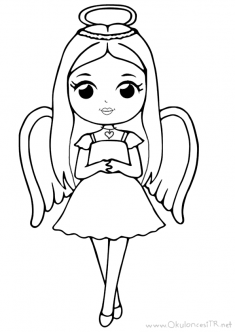 prenses-melek-boyama