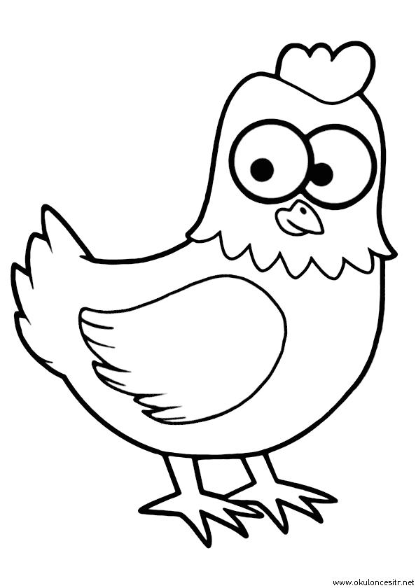 Tavuk Boyama